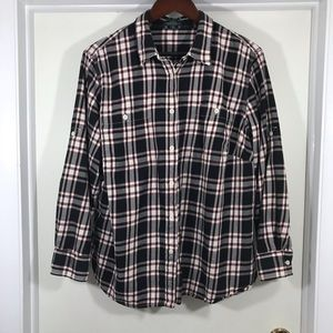Ralph Lauren plaid cotton shirt size 2X